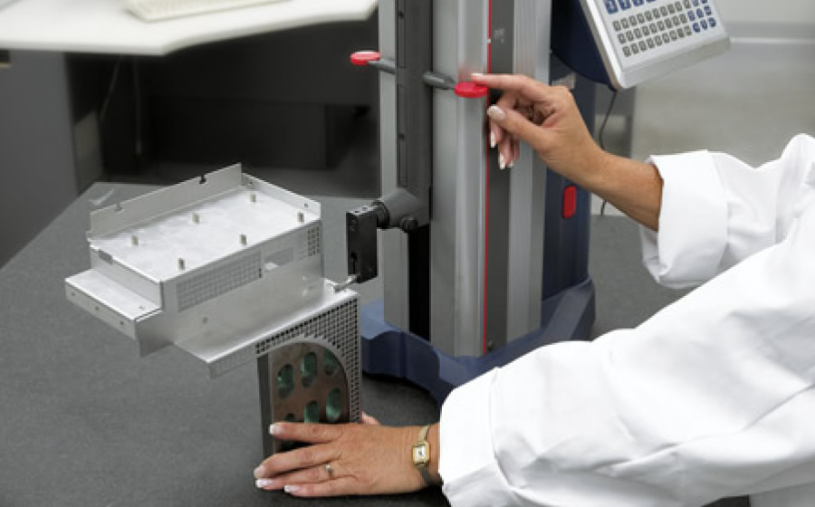 Quality inspection using a linear CMM gauge